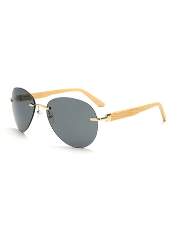 Bamboo Legs Retro Sunglasses