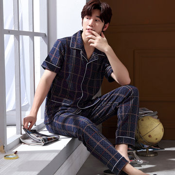 Pajamas cotton short-sleeved suit