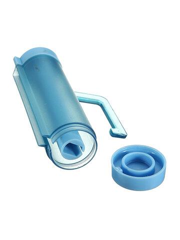 रोलिंग स्क्वीज़र टूथपेस्ट डिस्पेंसर ट्यूब पार्टनर होल्डर चूसने वाला