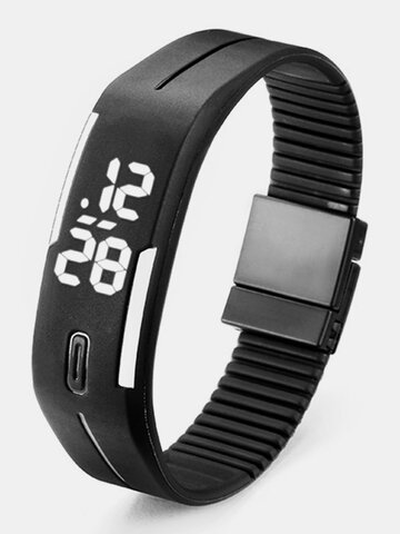 Unisex Silicon LED Sport Watch