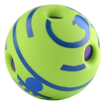 Wobble Wag Giggle Ball Dog Play Squeaky Ball