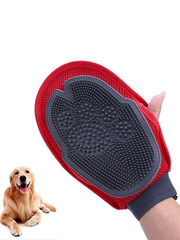 Badreinigungsbürste Handschuh Haustier Hund