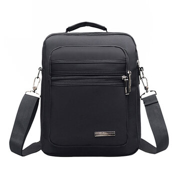 Homens Nylon Outdoor Casual Waterproof Crossbody Bag
