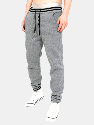 Joggers in cotone con coulisse