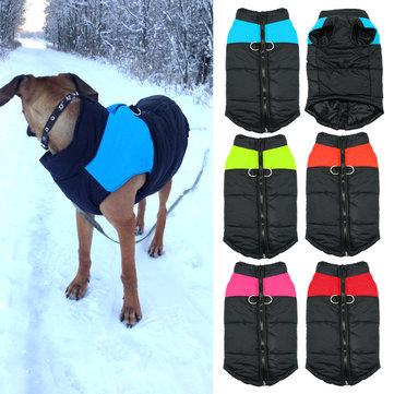 Waterproof Pet Dog Puppy Warm Winter  Clothing