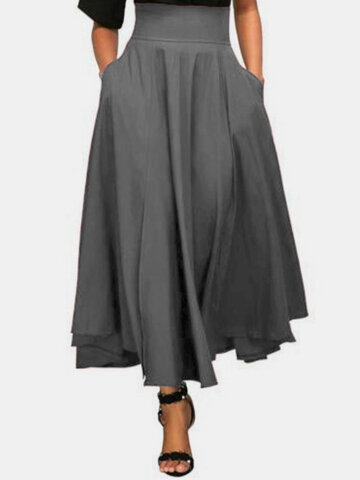 High Waist Bandage Maxi Skirt