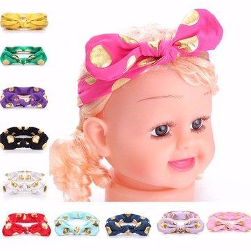 Baby Girl Kid Cute Toddler Bow Hairband Turban Knot Rabbit Headband Headwear