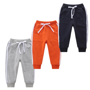 Casual Sport Style Boys Pants For 1-11Y
