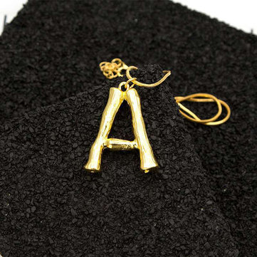 Statement Pendant Gold Necklace