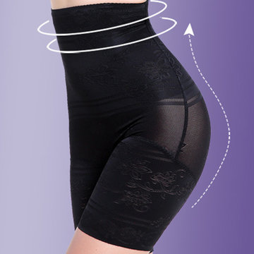 Shapwear taille haute taille jacquard