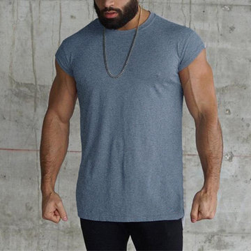 Men Sports Gym Tank Top Bodybuilding Fitness Tops
