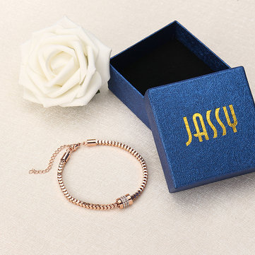 JASSY Zirconia Bracelets en or rose