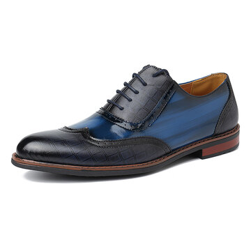 Menico Men Stylish Brogue Oxfords