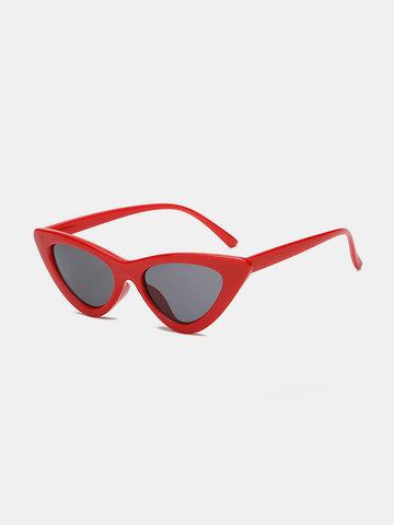 Cat Eye Sunglasses Anti UV Eyeglasses Thin Face HD View