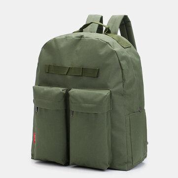 Men Large Capacity Casual Backpack School Bag