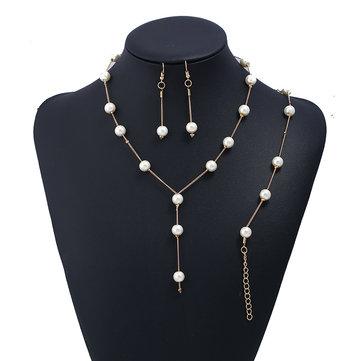 Fashion Gold Pendant Jewelry Sets