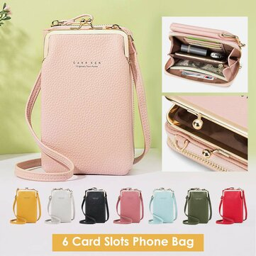 6 Card Slots 6.3 Inch Phone Bag