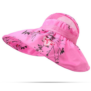 Women Foldable Sunscreen Bucket Hats
