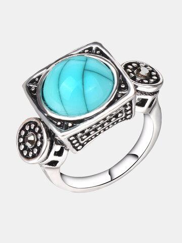 Fashion Turquoise Finger Ring