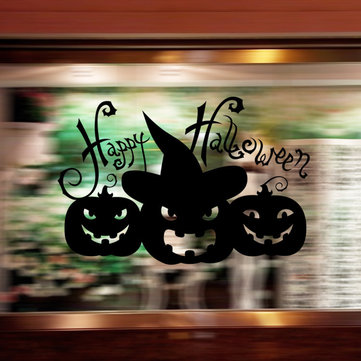 Halloween Carved Series Decorative Wall Stickers