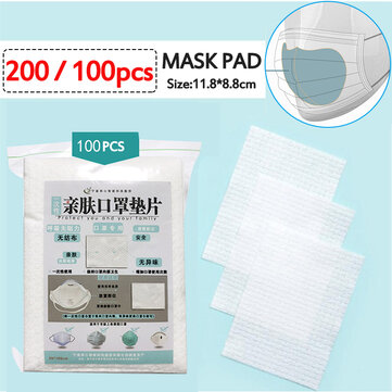 Disposable Mask Replacement Pads
