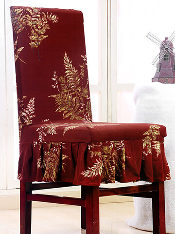 Elegant Laciness Chair Cover Slipcover