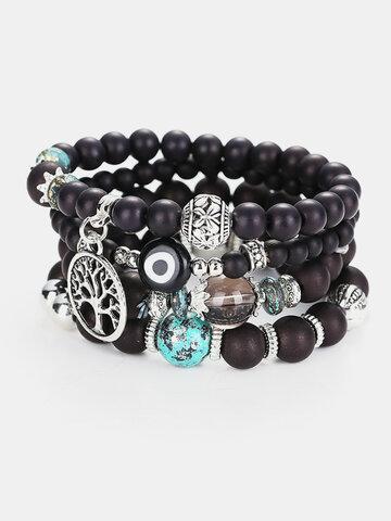Bohemian Multilayer Beaded Bracelets
