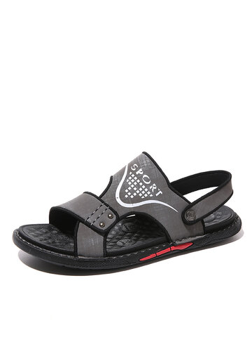 Men Two Ways Opened Toe Sandals