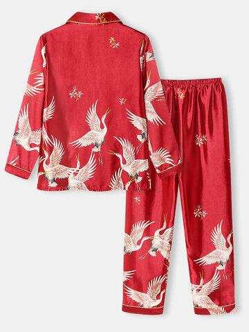 Pijama Plus Size Crane Patrón