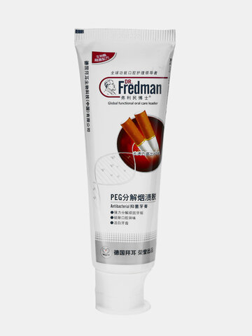 Antibacterial Bamboo Charcoal Toothpaste