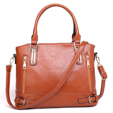 Women PU Leather Handbags Ladies Shoulder Bags Tote Bag