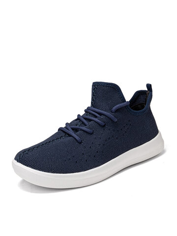 Lace Up Walking Sneakers