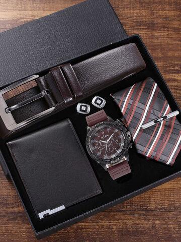 5 Pcs Quartz Watch Set