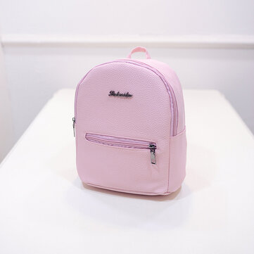 Candy Color School Bag Small Backpack