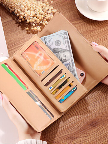 Trifold 6.5 Inch Phone Bag  Wallet Purse