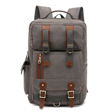 Canvas Large Capacity Travel 16 Inches Laptop Backpack