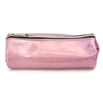 Portable Hologram Mini Pencil Case Zip Pouch Storage Bag Holder