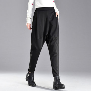 Season Hanging Pantaloni Harem Pantaloni Ladies Casual Long Pantaloni