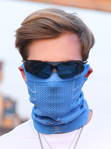 Motorcycle Face Mask Headband Neck Scarf