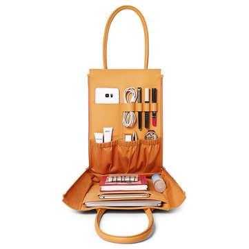 DREAME Multi-slots Casual Multifunction Cosmetic Handbag