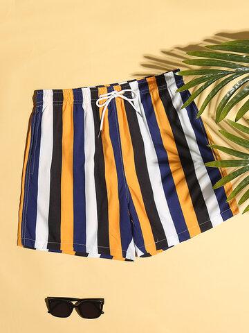 Colorful Stripe Shorts