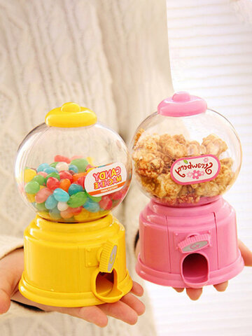 Colorful Candy Storage Box  Candy Machine Piggy Bank