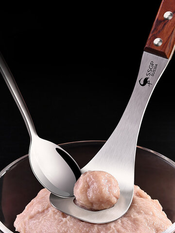 Stainless Steel Meatballs Spoon
