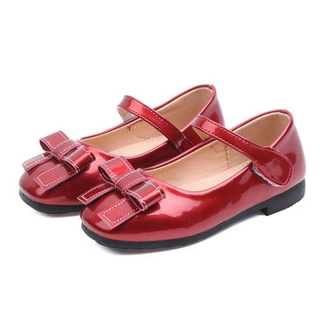 Girls Bowknot Elegant Mary Jane Shoes