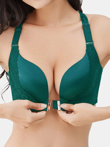 Wireless Front Closure Beauty Back Bra