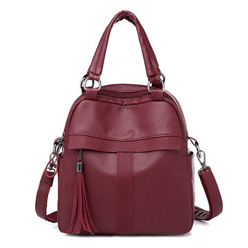 Women Leisure Multi-function Handbag Travel Backpack