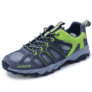 Men Outdoor Mesh Hiking Shoes