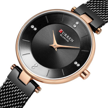 CURREN Elegantes Design Damen Uhr