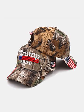 Trump 2020 Camouflage Baseball Cap