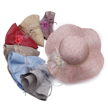 Foldable Beach Sun Hat фото